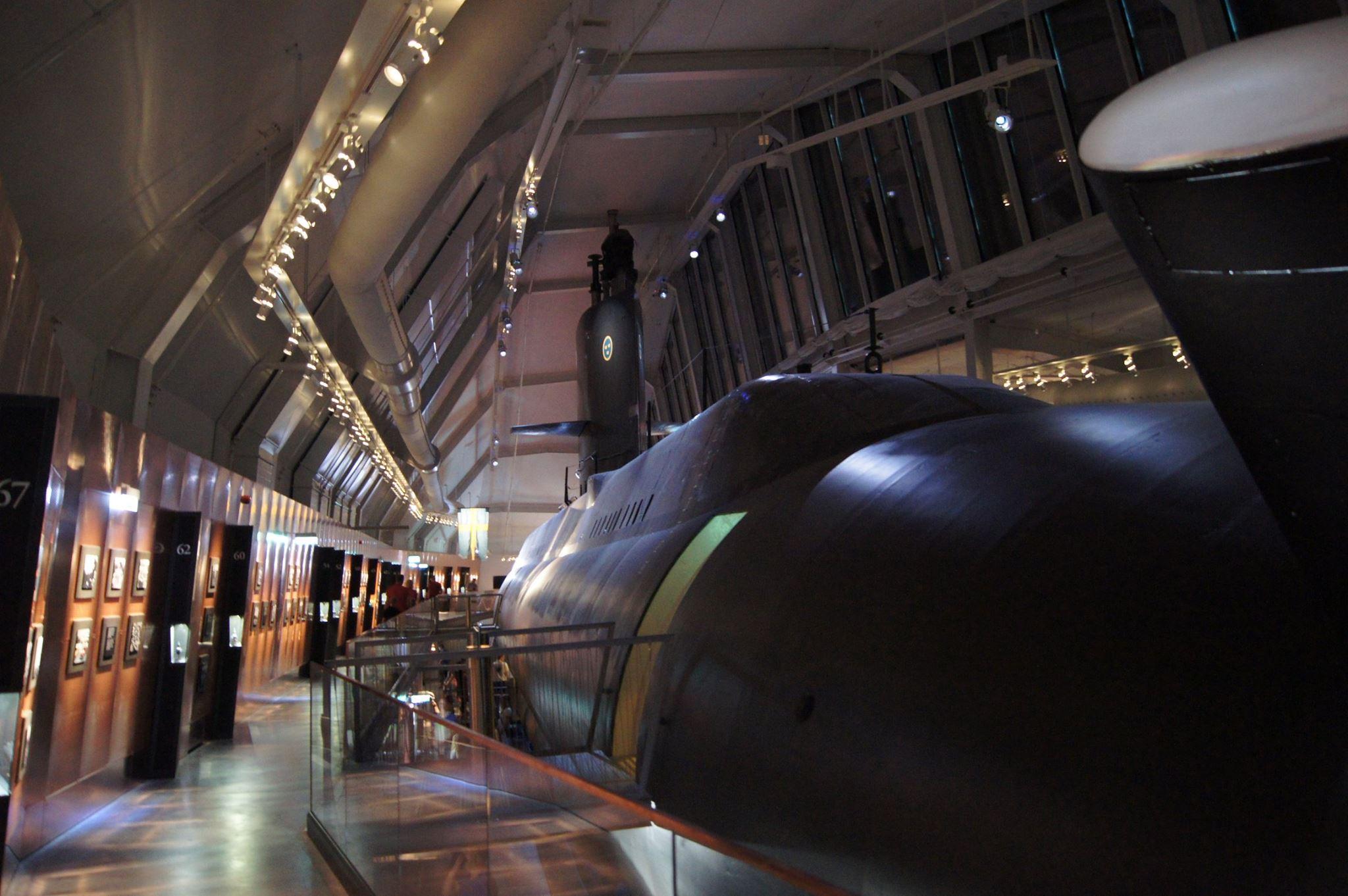 Ubåtshallen på Marinmuseum